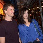 Sergio Amaral e Caroline Baum