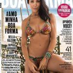 "Gaby Amarantos na capa da ""Boa Forma"""