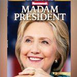 """Por engano, revista distribui capa com """"Hillary presidente"""""""