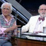 """Jô Soares se despede do """"Programa do Jô"""" com entrevista de Ziraldo"""