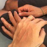Renata Vanzetto é pedida em casamento na virada do ano