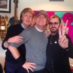 McCartney e Ringo Starr se reúnem em estúdio