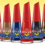Risqué lança coleção de esmaltes inspirada na Mulher Maravilha