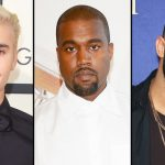 Justin Bieber, Kanye West e Drake se recusam a participar do Grammy 2017