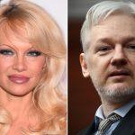 Pamela Anderson e Julian Assange?