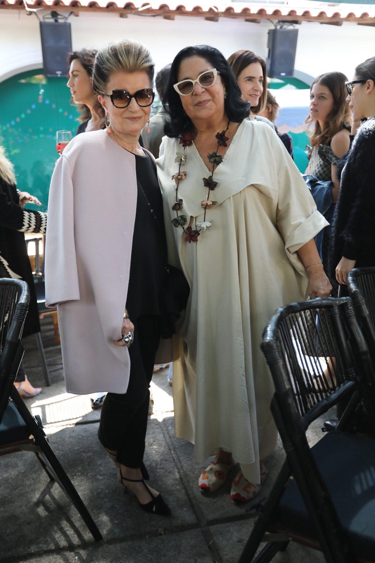 Costanza Pascolato e Maria Alice Solimene