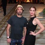 Mauro Lima e Alinne Moraes