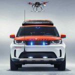 Land Rover lança projeto com Drone
