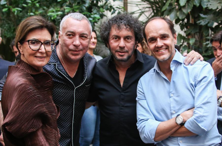 Cristina ferraz, Sig Bergamin, João Armentano e Dado Castello Branco