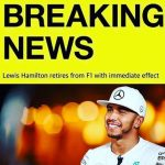 Lewis Hamilton se diverta no Dia da Mentira