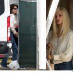 Penelope Cruz loira para viver Donatella Versace