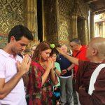 Marina Ruy Barbosa já se casou em cerimônia budista na Tailândia