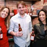 Carol Gimenes, Andre Clemente e Kelly Lobos