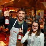 Dan Belaciano e Evelyn Guedes
