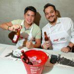 Gabriel Yamaya e Daniel Grandesso