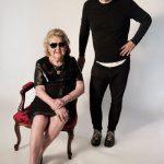 Maricy Trussardi, 82 anos, é nova modelo da marca do filho