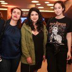 Fabricia Lima, Anna Rombino e Isabela Serafim