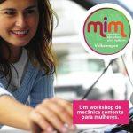 Workshop de mecânica de carro para mulheres