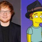 "Ed Sheeran estará na próxima temporada de ""Os Simpsons"""