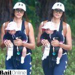 Filha de Irina Shayk e Bradley Cooper é fotografada pela primeira vez