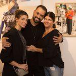 Anna Fasano, Léo Faria e Kiki Moreno