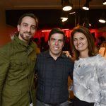 Bruno Couto, José Cardoso e Luciana Vedovato