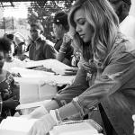 Beyoncé foi para Houston encontrar famílias afetadas pelo furacão Harvey