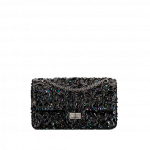Chanel-Black-Embroidered-Patent-Lambskin-2.55-Reissue-Size-225-Bag