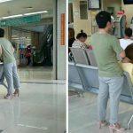 Homem que trocou de sapato com a namorada faz sucesso na web. O motivo?