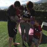 Mulher de Messi anuncia gravidez do terceiro filho