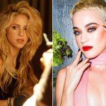 Katy Perry e Shakira devem vir ao Brasil em março de 2018