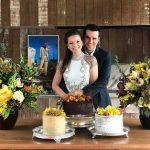 Milena Toscano se casa em SP