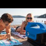 Leve o seu próprio ar condicionado para praia!