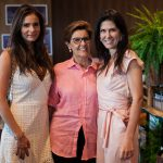Flavia Martins, Dorita Porto e Andrea Bartelli