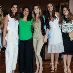 Stella Jacintho, Isabella Fiorentino, Fernanda Figueiredo, Lorena Pires, Flavia Martins e Luisa Purc
