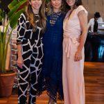 Stella Jacintho, Livia Leão e Andrea Bartelli