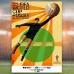 Fifa lança pôster oficial da Copa do Mundo de 2018