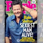 "Revista ""People"" elege Blake Shelton como o ""homem mais sexy do mundo"""