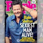 """Revista """"People"""" elege Blake Shelton como o """"homem mais sexy do mundo"""""""