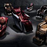 Lamborghini lança linha de cadeiras de massagem