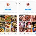 Agora Instagram permite que você siga pessoas e hashtags