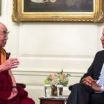Obama e Dalai Lama se encontram na Índia