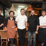 Felipe Toffli,Marcello Maksoud,Marcel Bernardi,Juca Duarte e Bruna Gomes