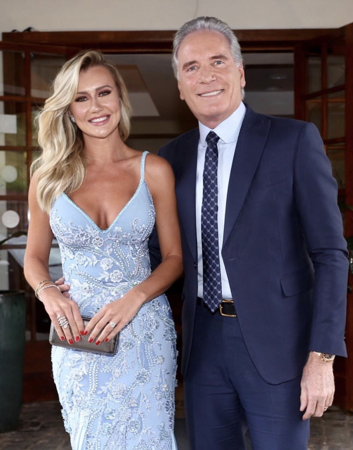Ana Paula e Roberto Justus