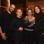 Leo Faria, Valdemar Iodice, Tania Otranto e Susana Barbosa