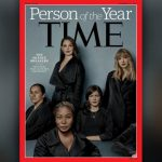 "Movimento #MeToo é a personalidade do ano da revista ""Time"""