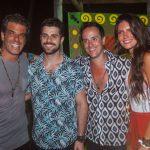 Alvaro Garnero, Alok, Kako Perroy e Lou Montenegro (Crédito: Charles Naseh)