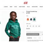 H&M é acusada de racismo em foto de menino de moletom