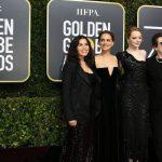 Atrizes que participaram do protesto no Globo de Ouro irão leiloar vestidos usados no red carpet