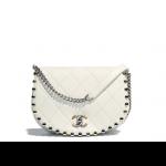 Chanel-White-Metallic-Bubble-Small-Flap-Bag